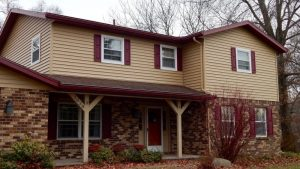 Dennison Exterior Solutions & Gutter Topper as siding contractors in Stevensville MI
