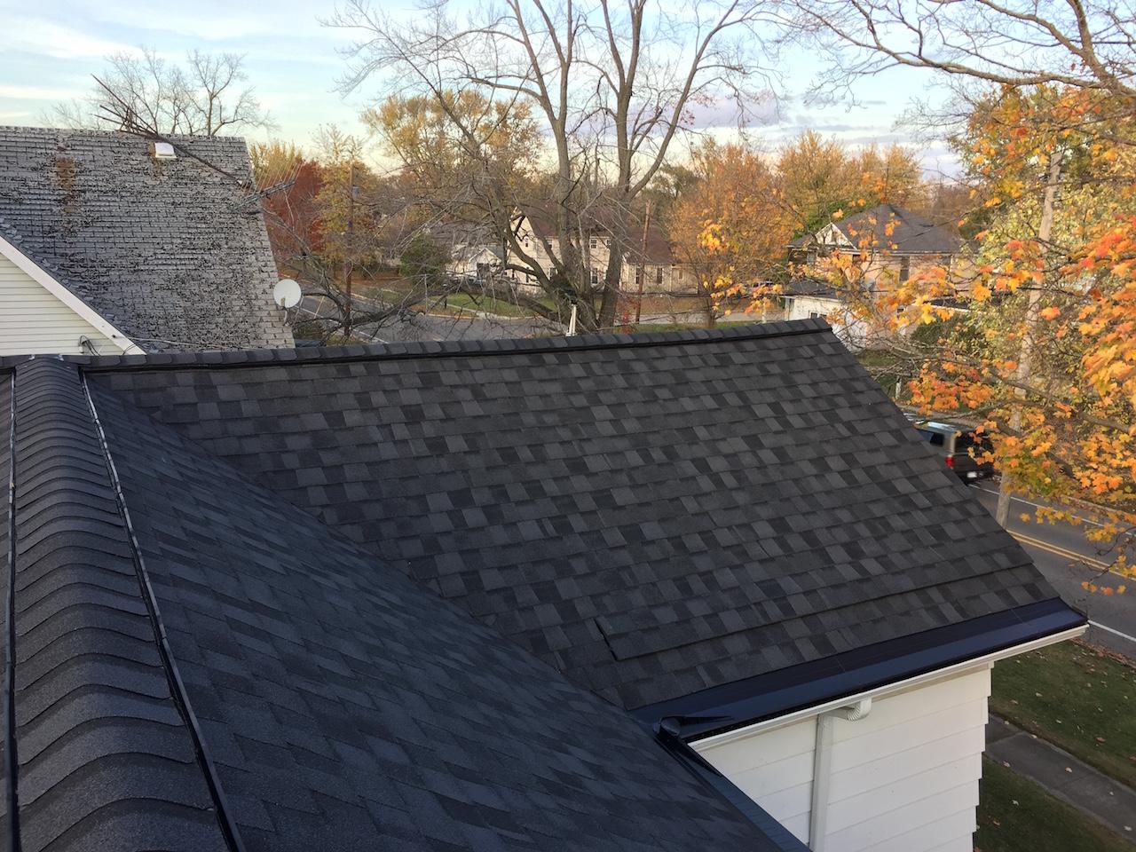 Three Oaks Roof Seamless Gutter Amp Gutter Topper Project