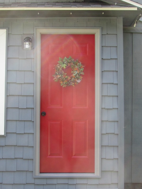 Siding Cedar Impressions Front Entry 2 Dennison Exterior