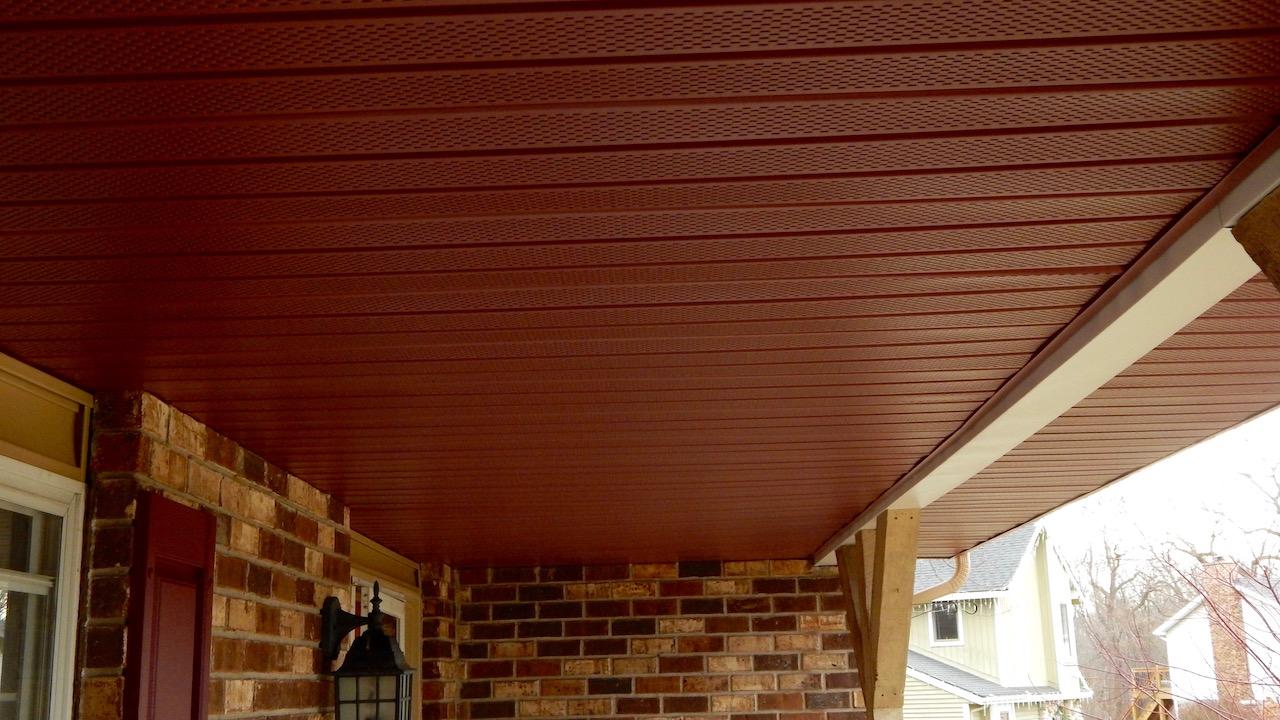 Aluminum Soffit For Porch Ceiling Taraba Home Review
