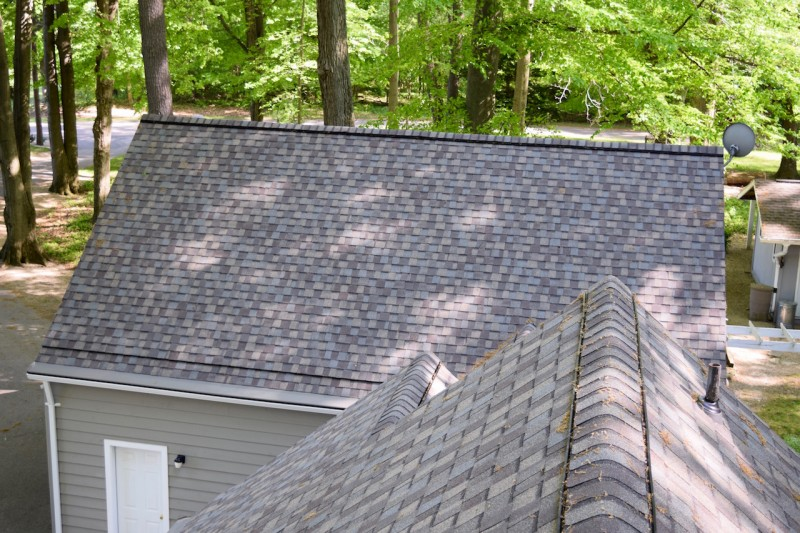 Benton Harbor Michigan Roof Ventilation Seamless Gutter