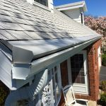 Light Gray Gutter Topper