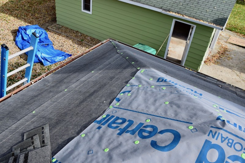 Baroda Michigan Roof Project Dennison Exterior Solutions