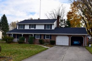 Dennison Exterior Solutions & Gutter Topper: After our work was Completed