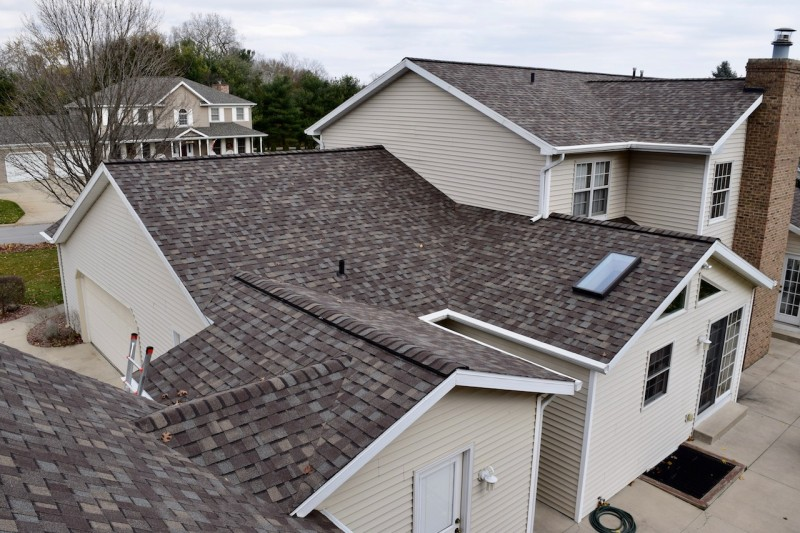 Granger Indiana Roof Amp Solution Gutter Cover Project