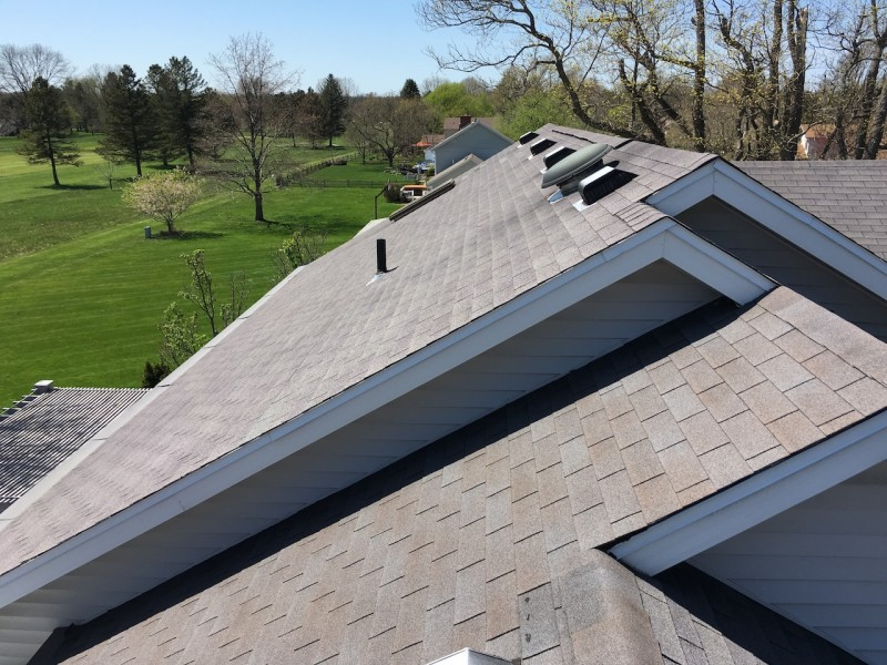 Granger Indiana Roof And Gutter Topper Project Dennison