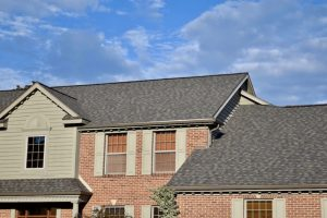 CertainTeed's LandMark Pro Driftwood Shingles installed by Dennison Exterior Solutions & Gutter Topper in Granger Indiana