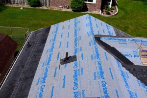Underlayments - Dennison Exterior Solutions & Gutter Topper are Roofing Contractors in Stevensville Michigan