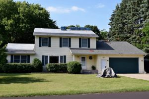Dennison Exterior Solutions & Gutter Topper with CertainTeed's Independence Georgetown Gray Shingles