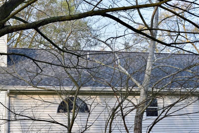 Niles Michigan Roof Seamless Gutter Amp Gutter Topper