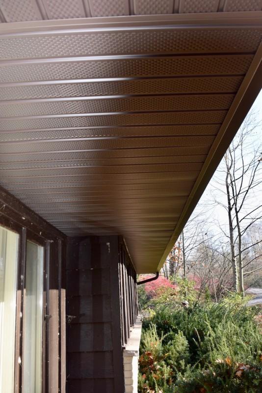 Lawton Michigan Roof Heat Deflector Insulation Soffit