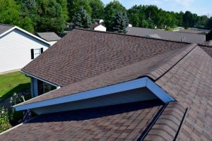 Dennison Exterior Solutions & Gutter Topper: CertainTeed LandMark Pro Heather Blend Shingles
