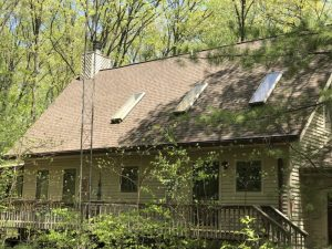 Dennison Exterior Solutions & Gutter Topper: CertainTeed LandMark Pro Heather Blend Shingles with Royal Brown Gutter Topper