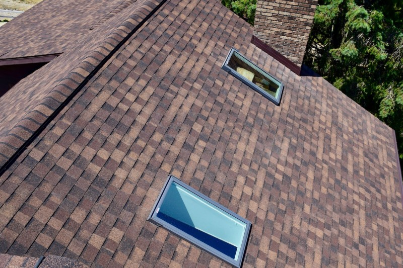 Hartford Michigan Roof Skylight Heat Deflector Insulation Seamless Gutter And Needle Guard Project Dennison Exterior Solutions