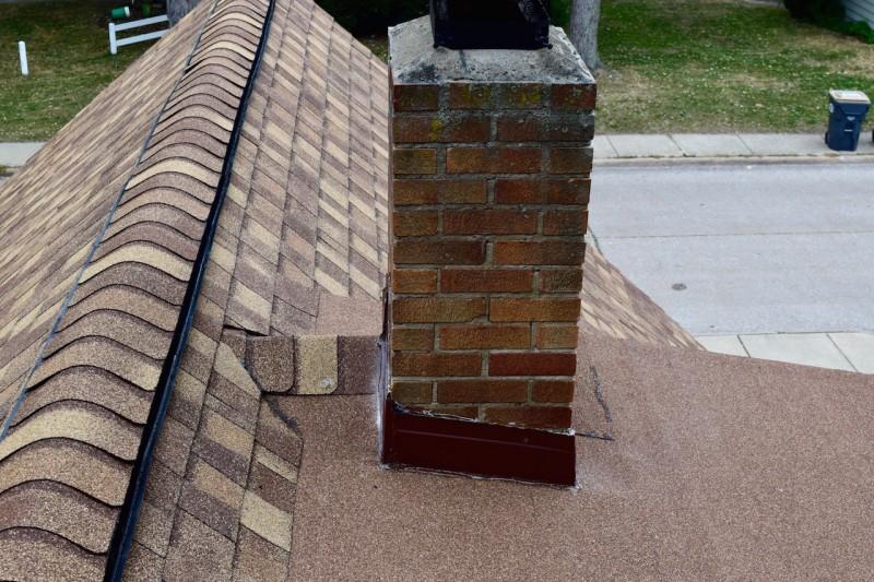 Saint joseph michigan roof ventilation heat deflector insulation project dennison exterior for Exterior roof insulation products
