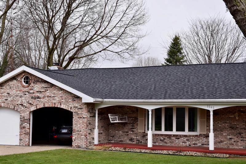 Benton harbor roof insulation project dennison exterior solutions for Exterior roof insulation products