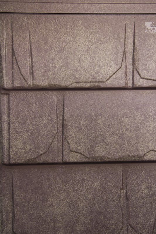 Slate Brown Stone Metal Roofing