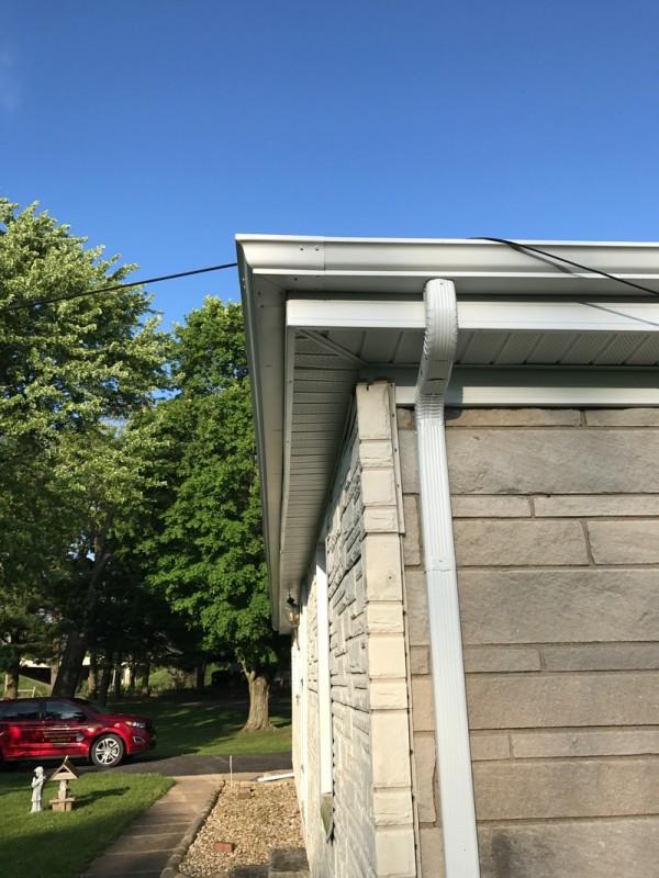 South Bend Roof, Soffit, Fascia & Gutter Project | Dennison