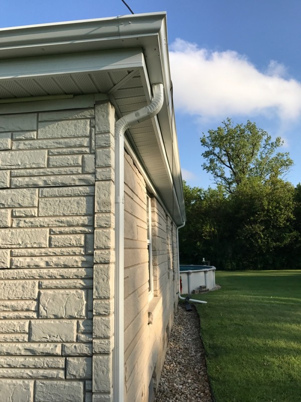 South Bend Roof Soffit Fascia Amp Gutter Project