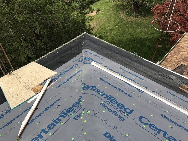 Coloma Michigan Roof Soffit Fascia And Seamless Gutter