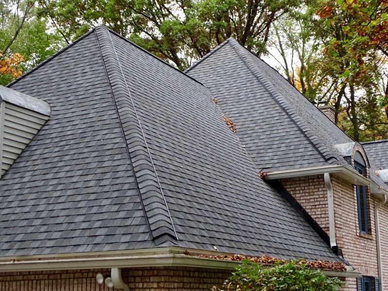 Landmark Pro Pewter Lifetime Warranty Shingles Dennison