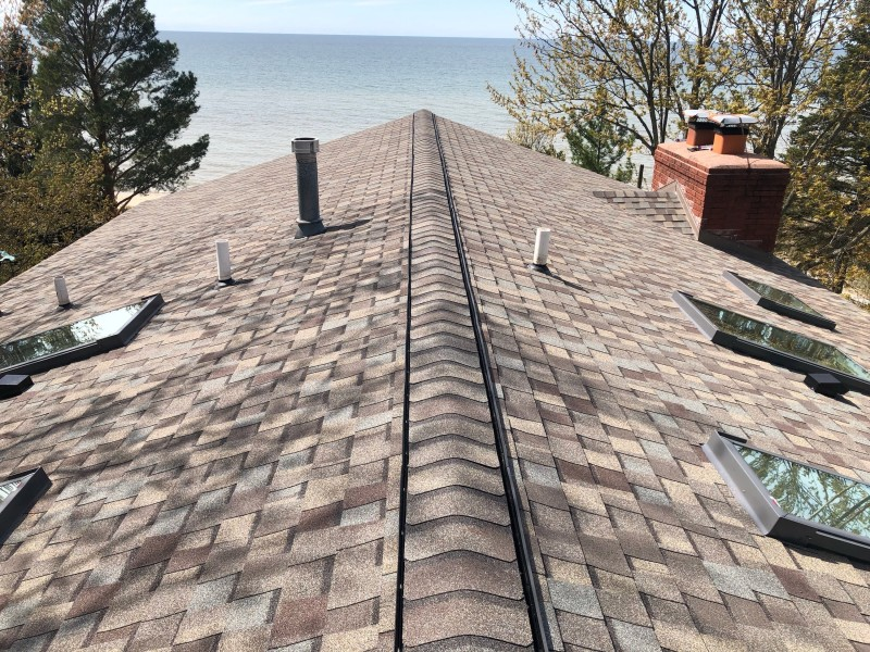 Sawyer Michigan Roof Project Dennison Exterior Solutions
