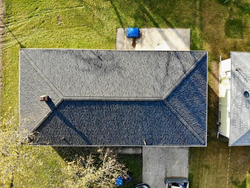 Bridgman Michigan Roof Seamless Gutter Amp Solution Gutter